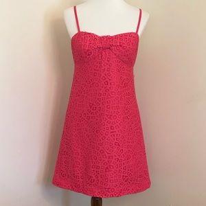 Lilly Pulitzer | Karina Empire Waist Pink Sundress